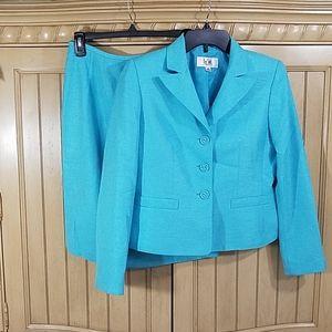 Le Suit Skirt Set, sz 4P